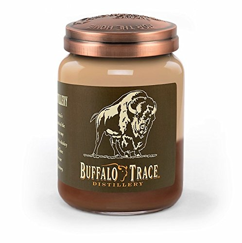 - Buffalo Trace Bourbon Roasted Pecan 26 oz. Large Jar Candleberry Candle