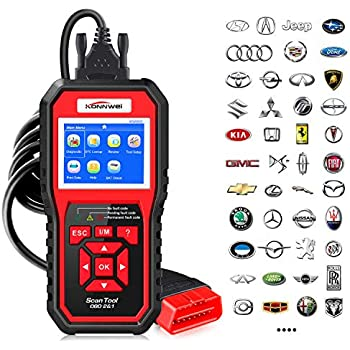 Amazon.com: KONNWEI OBD2 Scanner Car Code Reader KW680 ...