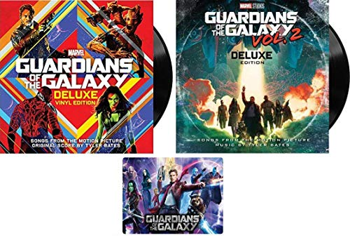 (Guardians of the Galaxy: Awesome Mix Vol. 1 & 2 - Complete Deluxe Edition Vinyl Record Collection (12