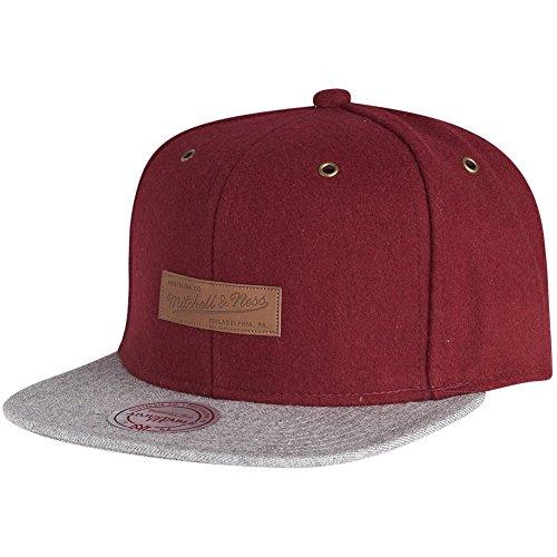 Mitchell & Ness Snapback Cap - PRIME Brand Logo burgundy