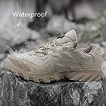 HJHHJHAB Bottes de l'armée Tactique Hommes Chaussures de Sport Basses imperméables Chaussures de randonnée en Plein air… 11
