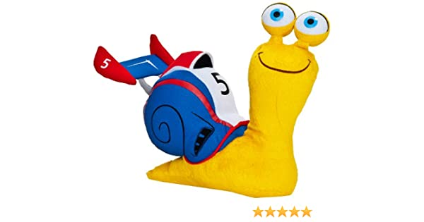 Joy Toy 339892 Turbo - Caracol de peluche (20 cm), color azul: Amazon.es: Juguetes y juegos