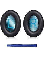 SoloWIT® professionella ersättningskuddar öronkuddar för Bose QuietComfort 15 QC15 QC25 QC2 QC35/ Ae2 Ae2i Ae2w SoundTrue & SoundLink OVER-EAR-hörlurar