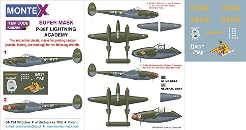 Montex 1//48 CH 46 Paint Mask for Academy kit