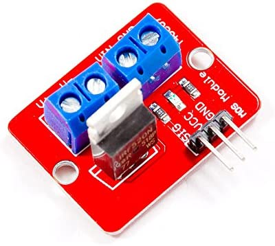 MissBirdler MOSFET switching module IRF520 similar to Relay for Arduino Raspberry Pi Pic AVR Arm