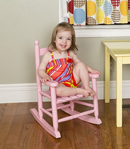 Jack Post KN-10P Knollwood Classic Child's Porch Rocker, Pink (Rocker Replacement Glider Parts)