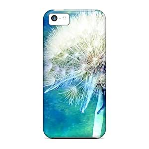 fenglinlinFor 88caseme Iphone Protective Cases, High Quality For ipod touch 4 Flor Azul Cielo Skin Cases Covers