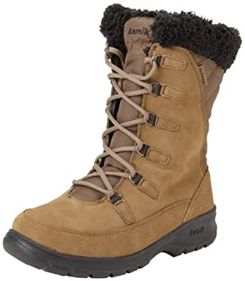 Amazon.com | Kamik Women's Boston Snow Boot, Taupe, 6 M US