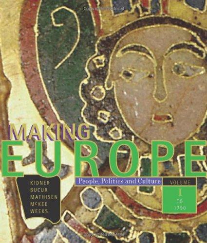 Making Europe:Volume 1