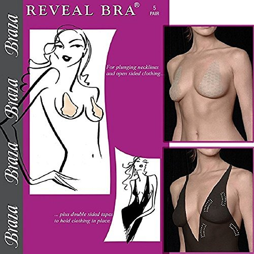 Reveal Adhesive Bra - Braza Reveal Disposable Adhesive Bra-3 Pack