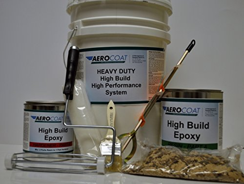 Aerocoat High Build Epoxy Floor Coating System for 2.5 Car Garage