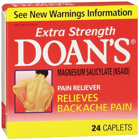 Doans Extra Strength Pain Reliever for Back Pain-24 ct.