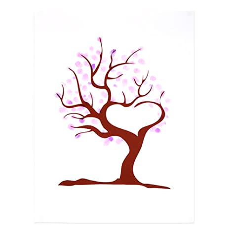 4 tipos árbol de la huella digital Libro de visitas de encargo de la ...