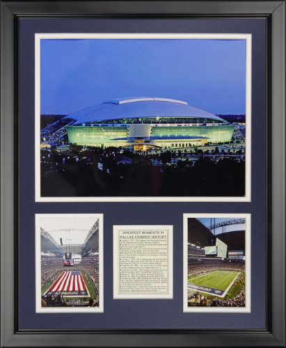 (Legends Never Die Dallas Cowboys - New Texas Stadium Framed Photo Collage, 16