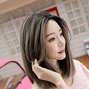 Amazon Com The New Wta Shoulder Length Red Hair Short Hair Carved