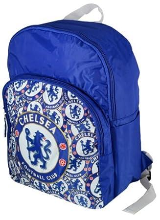 Chelsea FC Football Club Nylon Backpack School Bag  Amazon.co.uk  Sports    Outdoors 4fc0bbf013