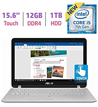 Asus 15.6?? 2-in-1 Touchscreen Fhd 1080p Laptop Pc, 7th Intel Core I5-7200u, 12gb Ddr4 Sdram, 1tb Hdd, Built-in Fingerprint Reader, Windows Ink Capable Display, Backlit Keyboard, Windows 10 0