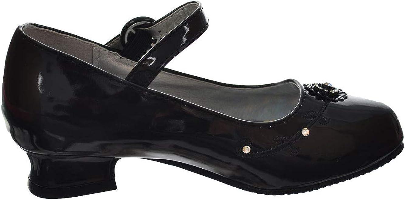 6 Youth Josmo Big Girls Mini Pumps Black