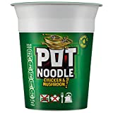 Pot Noodle Chicken and Mushroom 90 g (Pack of 12)