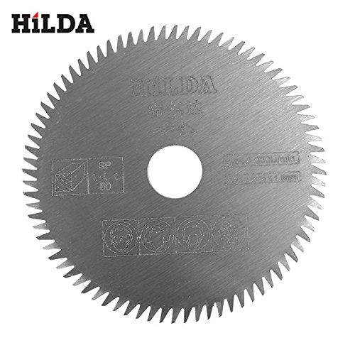 10mm/15mm 80 Teeth HSS Saw Blade 85x1.5mm Cutting Disc for Plastic Acrylic Board