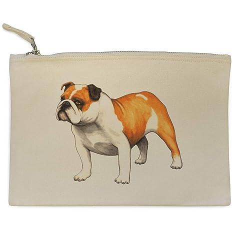 Azeeda Bulldog Inglés Bolso de Embrague / Accesorios Case (CL00014679)