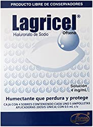 Lagricel Solución, Ofteno, 20 Dosis, 4mg, Pack of 1
