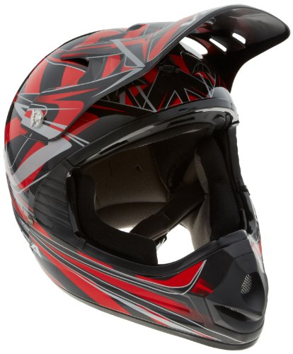 Blade Dot Helmet (Vega Mojave Off-Road Helmet with Blade Graphic (Red, Large))
