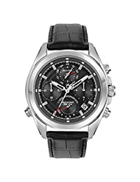 Bulova Mens 96B259 Dress Black Dial Watch