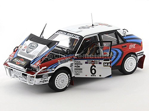 Amazon.com: Sunstar 1/18 Lancia Delta Integrale 1991 Kenya Safari Rally winner # 6 J. Kankunen: Toys & Games