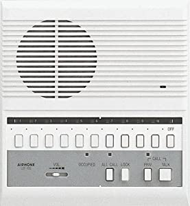 Aiphone LEF-10S Open Voice Selective Call Master Intercom with All-Call; Surface Mount; Accepts Up to 10 Connecting Door, Sub-Master, or Master Intercoms by AIPHONE COMMUNICATIONS