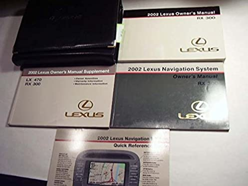 2002 lexus rx300 owners manual guide lexus dealer amazon com books rh amazon com 2002 lexus rx300 owners manual pdf 2002 lexus rx300 repair manual pdf