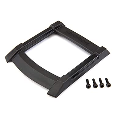 Traxxas 8917 Skid Plate, Roof (Body) (Black)/ 3x10mm Cs (4): Toys & Games