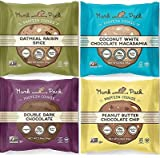 Munk Pack Protein Cookie Variety 2.96 oz - All 4 Flavors 1 of each (4 Pack)