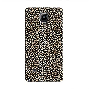 Cover It Up - Brown Black Pebbles Mosaic Galaxy Note 4 Hard Case