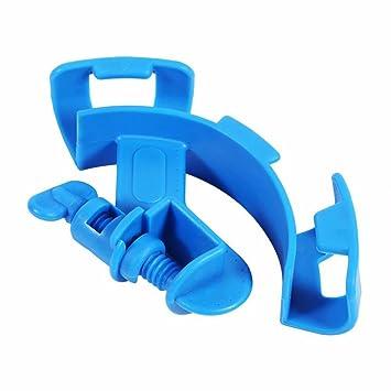 SGerste Soporte de tubo de agua para acuario, abrazadera de pinza de sujeción para manguera de tanque de peces, fijo, soporte para manguera: Amazon.es: ...