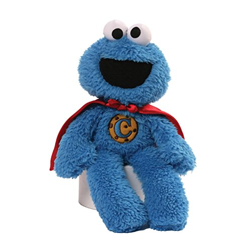 Sesame Street Cookie Monster Superhero Take Along Plush