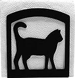 Wrought Iron Cat Napkin Holder