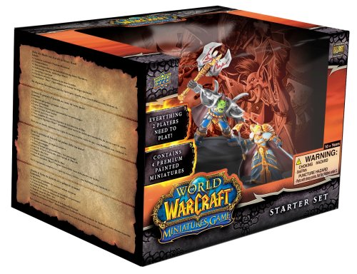 Upper Deck World of Warcraft Miniatures Core Set - Starter Deck