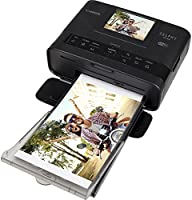 Canon SELPHY CP1300 Wireless Compact Photo Printer (Black) + Xtech Custom Hard Compact Case + USB Printer Cable + HeroFiber Cleaning Cloth
