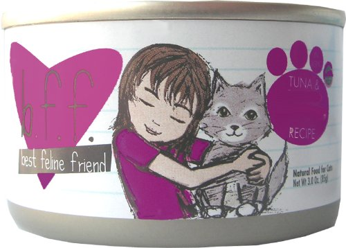 Best Feline Friend Cat Food, Tuna and Tilapia Twosome Recipe, 5.5-Ounce Cans (Pack of 16), My Pet Supplies
