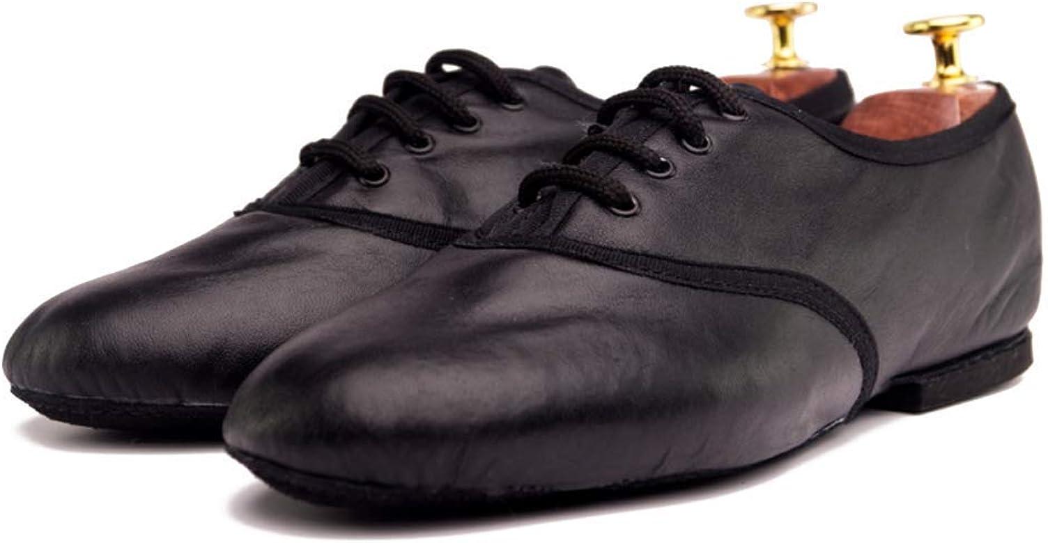 Manuel Reina Zapatos de Baile Latino Hombre Jazz Black