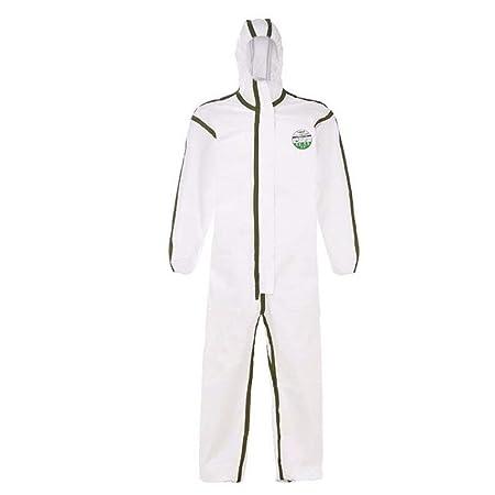 Overol protector, ropa de protección química Traje de protección a ...