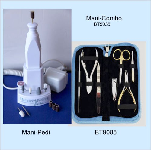 Manicure/Pedicure Kit Combo by Body Toolz by Body Toolz