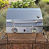 Member's Mark Portable Stainless Steel 2-Burner Gas Grill