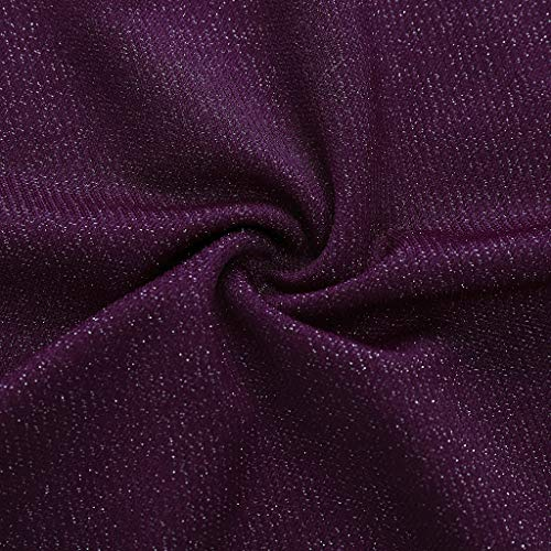 Lavany  Women's Skirts Sexy No See-Through A-Line Club Evening Party Mini Skirt Purple by Lavany  (Image #3)
