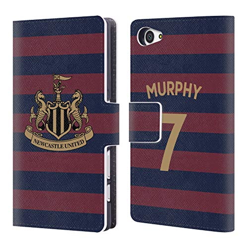 Murphy Compact Wallet (Official Newcastle United FC NUFC Jacob Murphy 2018/19 Players Away Kit Group 1 Leather Book Wallet Case Cover for Sony Xperia Z5 Compact)