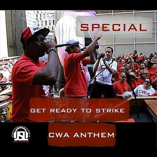 Get Ready to Strike - CWA Anthem Blue Strike Jerseys