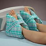 "DSS Posey Heel Pillows Pastel Plaid 10""l X 9""h"