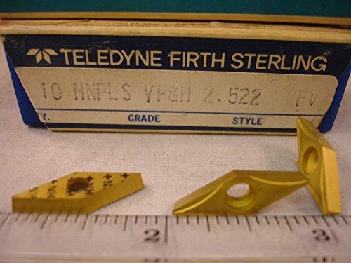 Teledyne - Vpgh 2.522 Fv Teledyne Carbide Inserts (10Pcs) New&Original