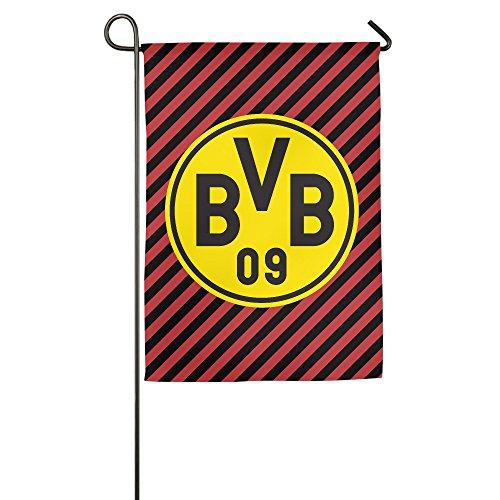 NEKOSANN Borussia Dortmund FC Logo Home Flag/Garden Flag /Flag Indoor/Outdoor1218/1827 Inch